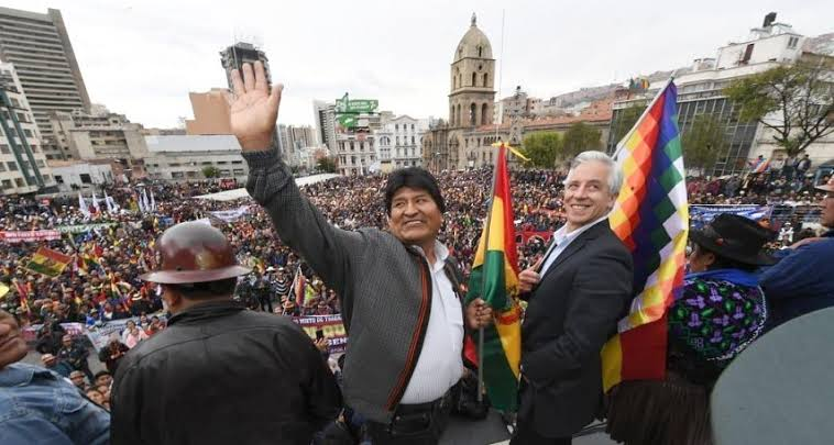 Buscara Evo Morales candidatura para Senador o Diputado en Bolivia