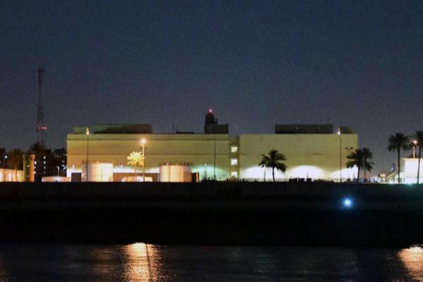 Atacan con cohetes zona verde en Bagdad, cerca de la Embajada de Estados Unidos en Irak