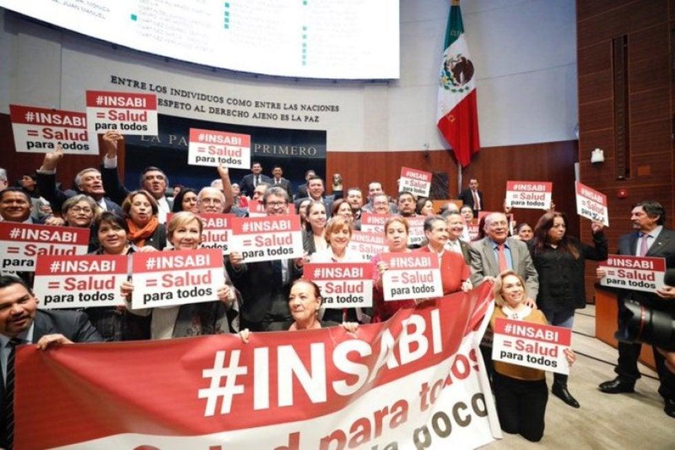 Vigilará el Senado que INSABI cumpla con servicios de salud gratuitos y de calidad