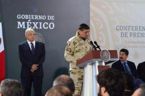 Se reduce incidencia delictiva en Chihuahua, sigue reto en materia de seguridad: AMLO