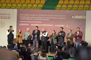 Ola de abucheos a Corral y aspirantes a candidatos para gobernador en Juárez