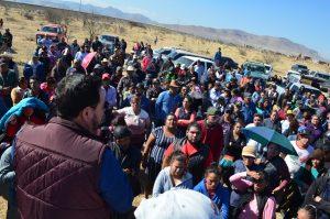 Apoya Colunga organización en las Ladrilleras para acceso a vivienda digna
