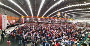 Respaldan bases de Morena a Bertha Luján, expresan unidad y defensa a la Cuarta Transformación y AMLO