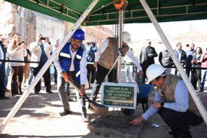 Inicia construcción de complejo habitacional vertical entre federación y estado en Chihuahua