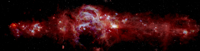 Revela NASA imagen detallada del centro de la Vía Lactea