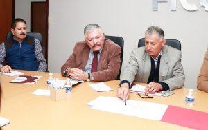 ANALIZAN MUNICIPIO Y FICOSEC PROYECTOS DE RECUPERACIÓN DE ESPACIOS Y DE SEGURIDAD