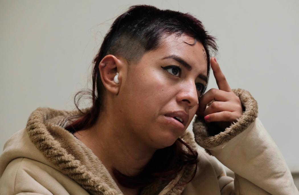 IMSS salvó la vida de Nohemí luego de que una bala perdida impactó en su cabeza