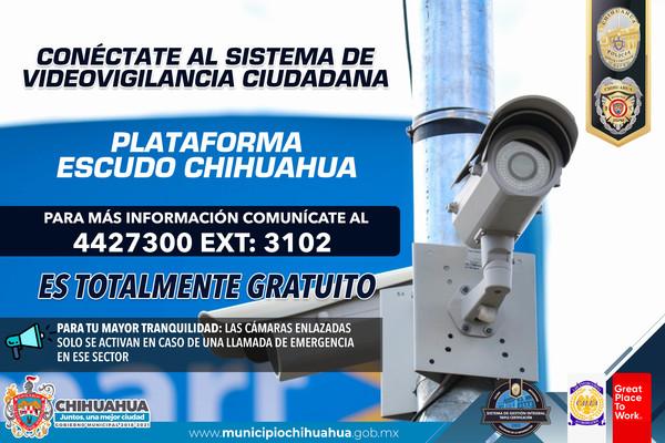 Invitan a ciudadanos a conectar sus cámaras a la PECUU