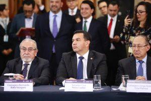 Recibe Senado reformas al Poder Judicial «Camino hacia una mejor justicia»: Pérez Cuéllar