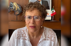Llama Bertha Luján a mujeres de Morena sumarse a jornada de lucha el 8M