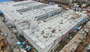 En 10 días China construyó hospital para tratar a pacientes de Coronavirus