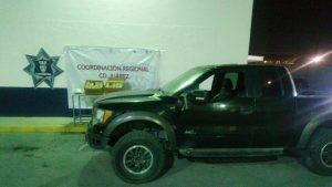 Localizan en Ciudad Juárez vehículo robado, estaba cargado de droga