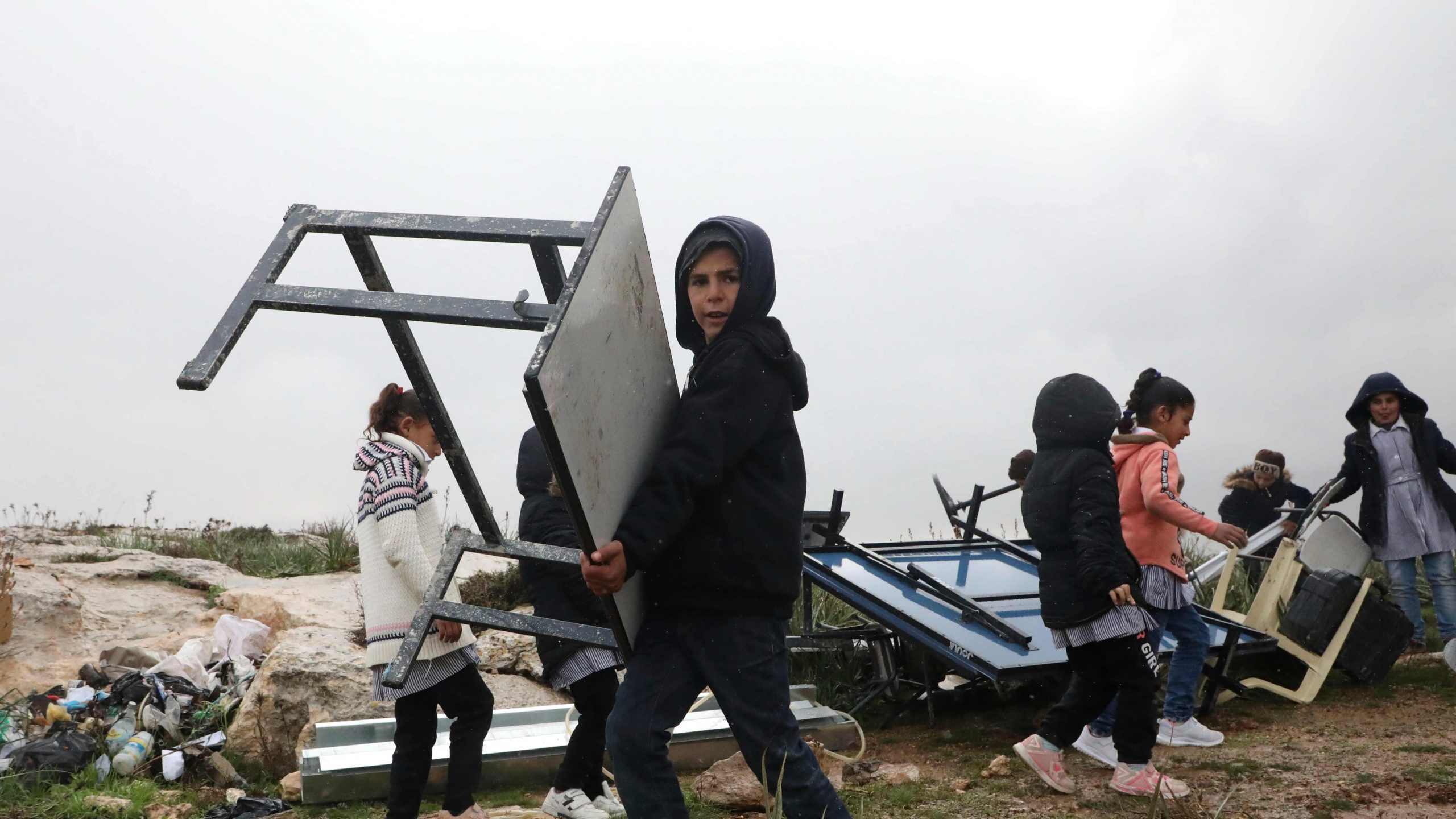 Nuevamente Israel destruye colegio palestino en Cisjordania