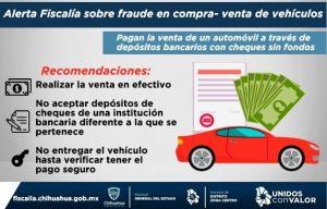 Compran autos con cheques sin fondos, Cuidado!!!