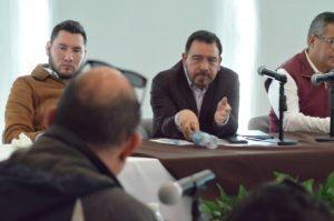 Busca Colunga priorizar transporte digno a usuarios en nueva ley de Transporte, re reune con concesionarios