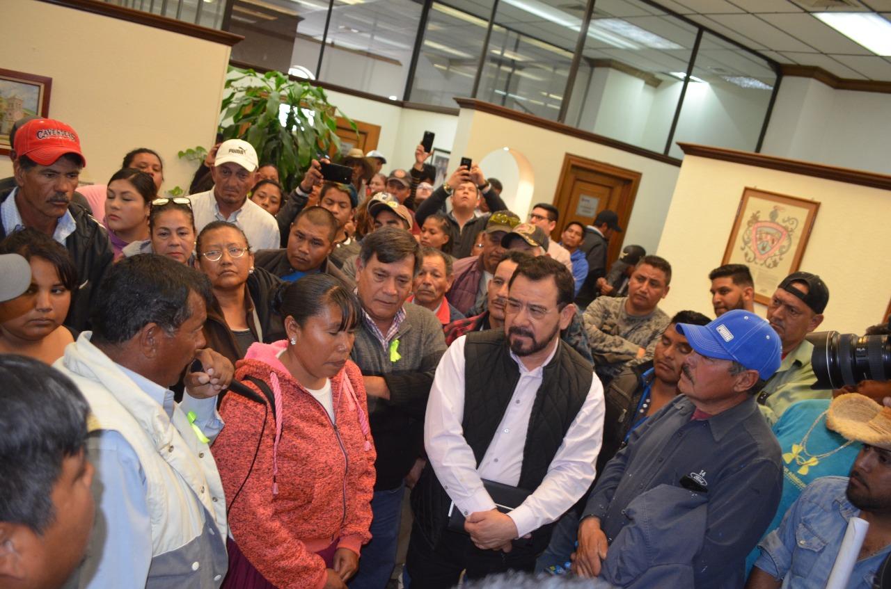 Reprueba Colunga a Maru por excesivo uso de fuerza pública en desalojo de Ladrilleras Norte