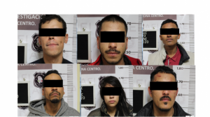 Revientan «picadero» y detienen a 6 en la Margarita Maza de Juárez