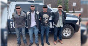 Atrapa CES a 4 presuntos delincuentes de «Gente Nueva»