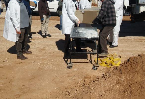 Entierran 47 cuerpos en Juárez