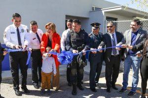 Remodela Gobierno Municipal campo de entrenamiento de grupo canino K9