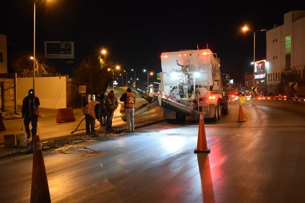 Llaman a tomar precauciones por trabajos de barrera central La Cantera