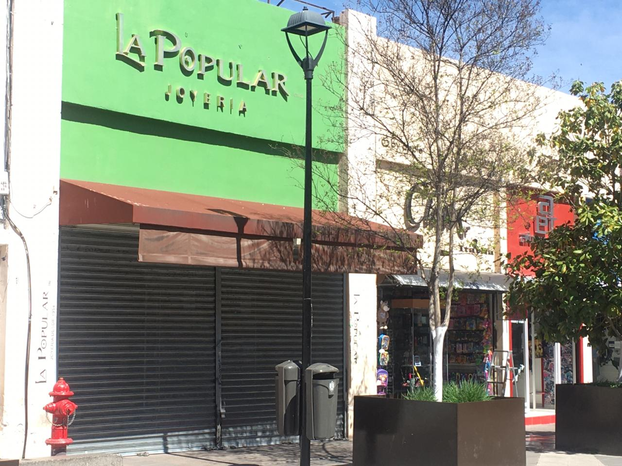 """Apocalíptico: Cierran negocios del centro y La Líber por el """"Coronavairus"""""""