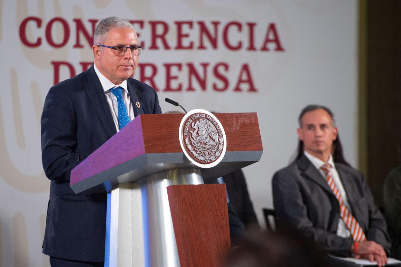 Reconoce OMS-OPS acción temprana del gobierno de México ante COVID-19