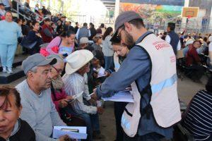 Entrega 4T mil 712 tarjetas a adultos mayores en Parral