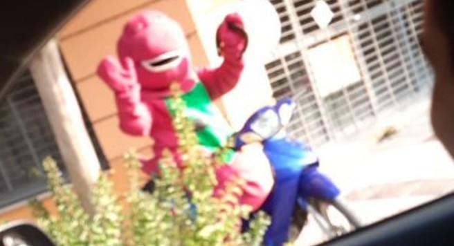Detienen a «Barney» por violar la cuarentena