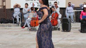 Muestran su belleza en certamen 22 internas del Cereso de Juárez