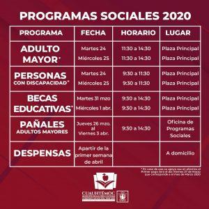 INICIA CUAUHTÉMOC ENTREGA DE TARJETAS PARA BECAS ECONÓMICAS
