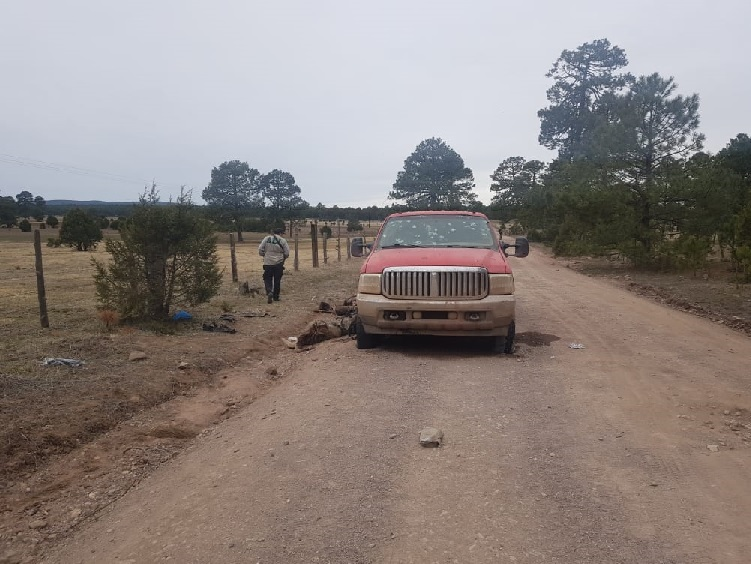 Así quedó la zona de guerra entre narcos; aseguraron cuernos de chivo y granadas