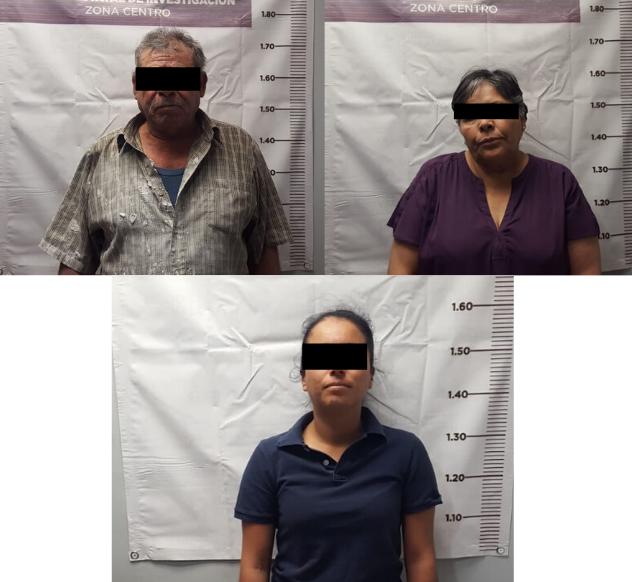 Tras cateo, capturan a dos mujeres y un hombre por venta de drogas