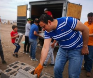 400 familias beneficiadas con material para autoconstrucción