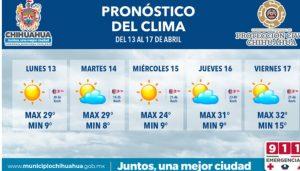 Prevé Protección Civil Municipal días soleados para esta semana