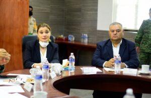 Participa Maru Campos en la Mesa Regional Chihuahua para la Construcción de la Paz