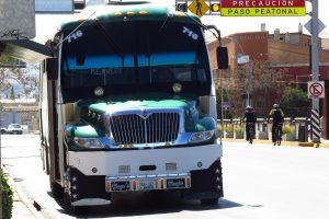 Sanción a camioneros que saturen de pasaje las unidades