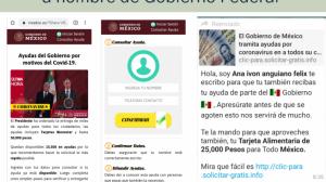 """Apoyos"" en internet a nombre de Gobierno Federal son falsos: FGE"