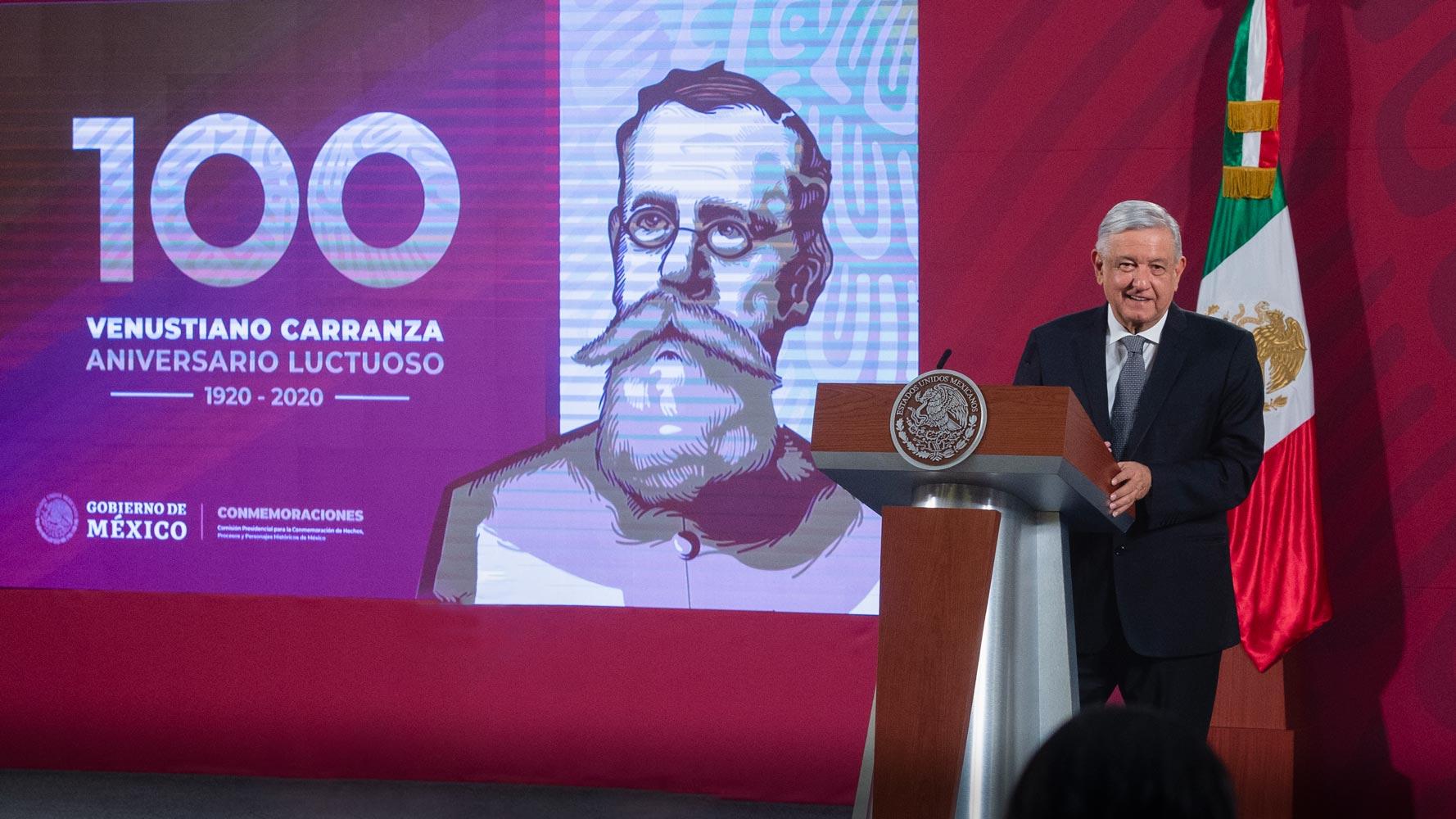 Reafirma AMLO tolerancia cero a corrupción en aduanas, puertos y sector energético