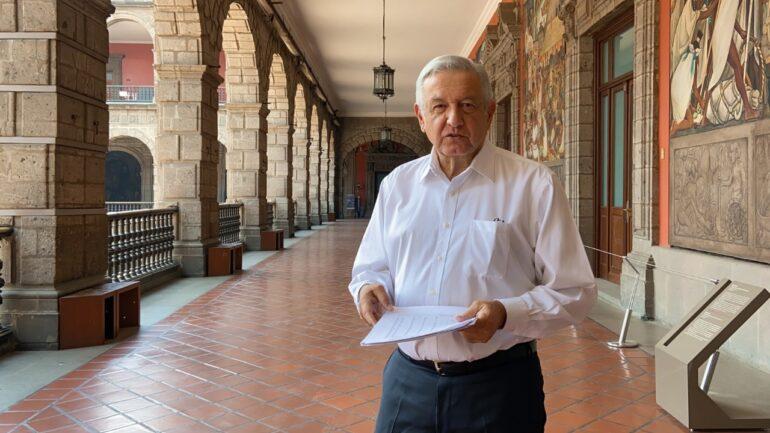 """Informa AMLO sobre inicio de """"Nueva Normalidad"""" en municipios sin contagio"""