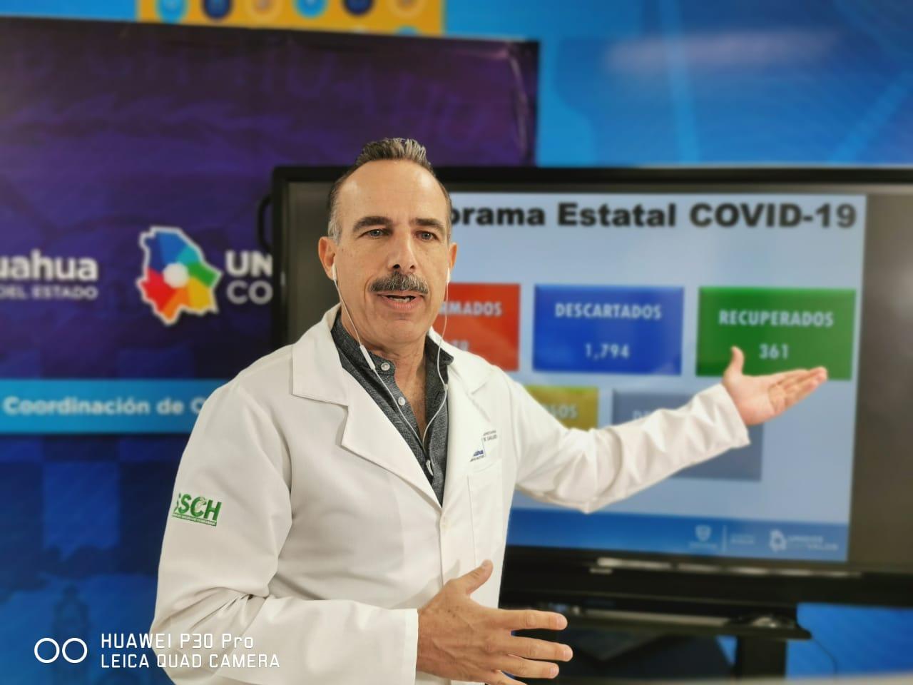 Llega Chihuahua a los mil 279 casos confirmados de COVID-19