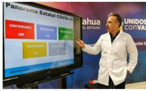 Tiene Juárez 400 de los 600 casos de Covid-19 en el estado