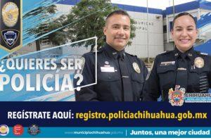 Continúa Policía Municipal recibiendo registros de aspirantes vía internet