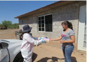 Inicia entrega de becas académicas y alimentarias en la zona rural