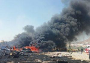 Sofocó Bomberos más de 400 incendios en pastizales los últimos 3 meses
