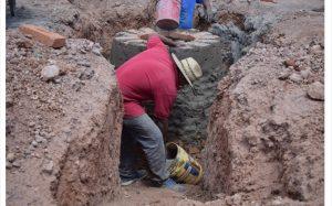 Sigue la instalación de drenaje al sur de la ciudad