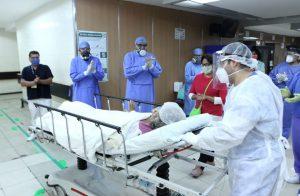 Vence mujer de 65 años al COVID19 con protocolo experimental de plasma