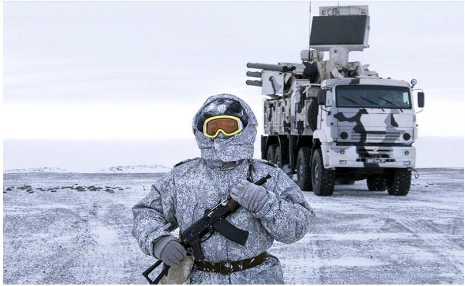 Armamento ruso ya es invisible en el Ártico y otros climas extremos