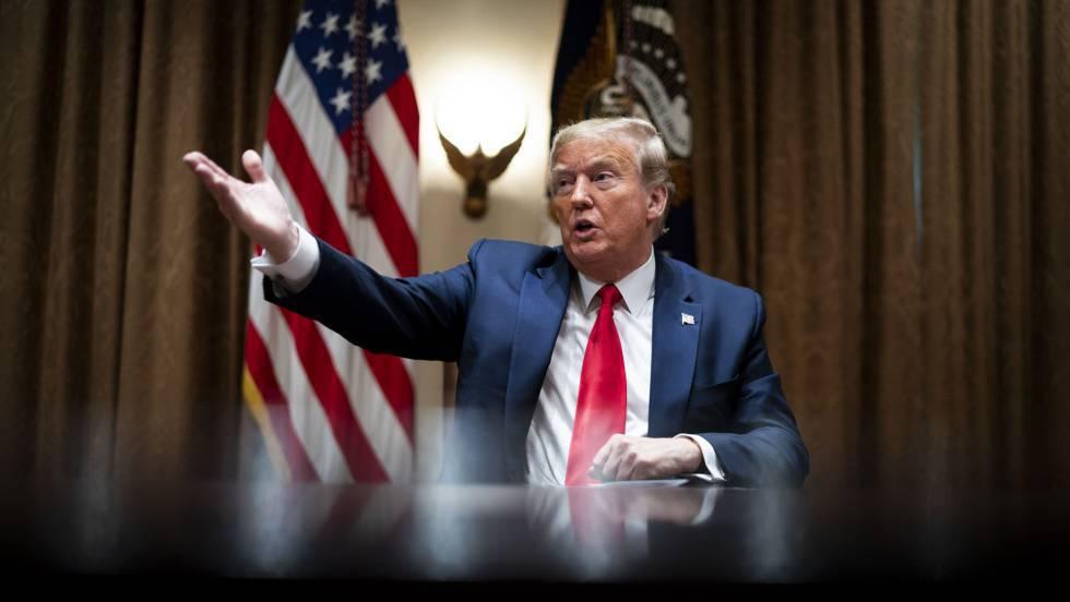 Saca Trump a Estados Unidos de la Organización Mundial de la Salud, rompe relaciones