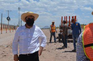 Inician obras de canalización y drenaje en colonia Nuevo Triunfo tras gestión de Miguel Colunga